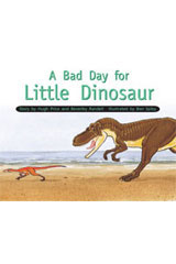 Rigby PM Stars  Individual Student Edition Yellow (Levels 6-8) A Bad Day for Little Dinosaur-9781418924324