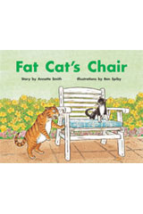 Rigby PM Stars  Individual Student Edition Blue (Levels 9-11) Fat Cat's Chair-9781418924348