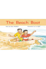 Rigby PM Stars  Individual Student Edition Blue (Levels 9-11) The Beach Boat-9781418924379