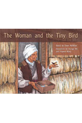 Rigby PM Stars  Individual Student Edition Green (Levels 12-14) The Woman and the Tiny Bird-9781418924461