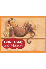 Rigby PM Stars  Leveled Reader Bookroom Package Red (Levels 3-5) Little Teddy and Monkey-9781418924645