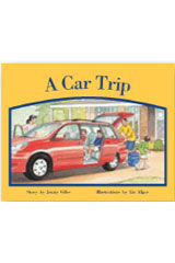 Rigby PM Stars  Leveled Reader Bookroom Package Red (Levels 3-5) A Car Trip-9781418924652
