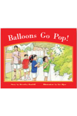 Rigby PM Stars  Leveled Reader Bookroom Package Red (Levels 3-5) Balloons Go Pop!-9781418924683