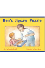 Rigby PM Stars  Leveled Reader Bookroom Package Red (Levels 3-5) Ben's Jigsaw Puzzle-9781418924720