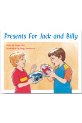 Rigby PM Stars  Leveled Reader Bookroom Package Red (Levels 3-5) Presents for Jack and Billy-9781418924737