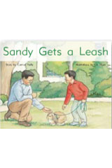 Rigby PM Stars  Leveled Reader Bookroom Package Yellow (Levels 6-8) Sandy Gets a Leash-9781418924775