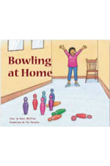 Rigby PM Stars  Leveled Reader Bookroom Package Blue (Levels 9-11) Bowling at Home-9781418924867