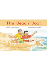 Rigby PM Stars  Leveled Reader Bookroom Package Blue (Levels 9-11) The Beach Boat-9781418924874