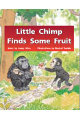 Rigby PM Stars  Leveled Reader Bookroom Package Blue (Levels 9-11) Little Chimp Finds Some Fruit-9781418924911