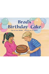 Rigby PM Stars  Leveled Reader Bookroom Package Green (Levels 12-14) Brad's Birthday Cake-9781418924997