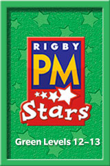 Rigby PM Stars  Single Copy Collection Green (Levels 12-14)-9781418925130