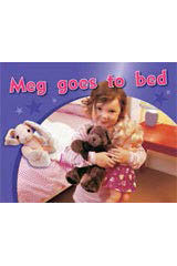 Rigby PM Photo Stories  Individual Student Edition Magenta (Levels 2-3) Meg goes to bed-9781418925192