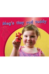 Rigby PM Photo Stories  Individual Student Edition Magenta (Levels 2-3) Meg's tiny red teddy-9781418925215