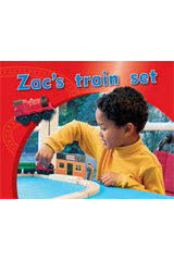 Rigby PM Photo Stories  Individual Student Edition Magenta (Levels 2-3) Zac's train set-9781418925246