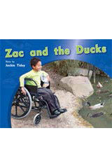 Rigby PM Photo Stories  Individual Student Edition Red (Levels 3-5) Zac and the Ducks-9781418925321