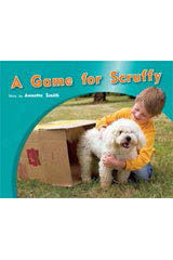 Rigby PM Photo Stories  Individual Student Edition Red (Levels 3-5) A Game for Scruffy-9781418925369