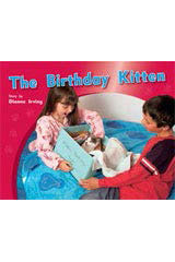 Rigby PM Photo Stories  Individual Student Edition Yellow (Levels 6-8) The Birthday Kitten-9781418925437