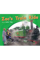 Rigby PM Photo Stories  Individual Student Edition Yellow (Levels 6-8) Zac's Train Ride-9781418925444