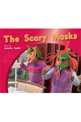 Rigby PM Photo Stories  Individual Student Edition Blue (Levels 9-11) The Scary Masks-9781418925505