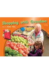 Rigby PM Photo Stories  Individual Student Edition Blue (Levels 9-11) Shopping with Grandma-9781418925529