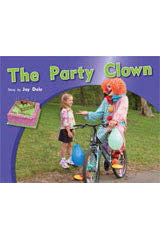 Rigby PM Photo Stories  Individual Student Edition Blue (Levels 9-11) The Party Clown-9781418925550