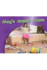 Rigby PM Photo Stories  Leveled Reader Bookroom Package Magenta (Levels 2-3) Meg's messy room-9781418925703