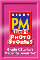 Rigby PM Photo Stories  Teacher's Guide Magenta (Levels 2-3)-9781418926199