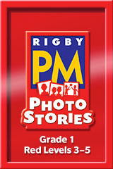 Rigby PM Photo Stories  Teacher's Guide Red (Levels 3-5)-9781418926205