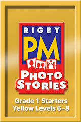 Rigby PM Photo Stories  Teacher's Guide Yellow (Levels 6-8)-9781418926212