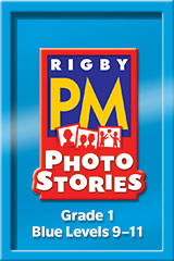 Rigby PM Photo Stories  Teacher's Guide Blue (Levels 9-11)-9781418926229