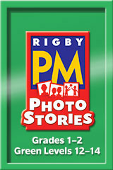 Rigby PM Photo Stories  Teacher's Guide Green (Levels 12-14)-9781418926236