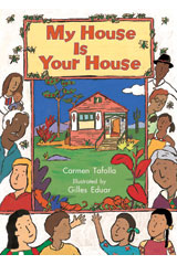 Literacy by Design  Big Book Grade K My House Is Your House-9781418930240
