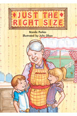 Literacy by Design  Big Book Grade K Just The Right Size-9781418930264