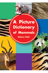 Literacy by Design  Small Book 6-pack Grade K Picture Dictionary of Mammals-9781418930493