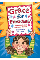 Literacy by Design  Big Book Grade 2 Grace for President!-9781418931841