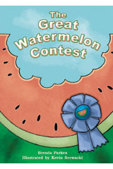 Literacy by Design  Big Book Grade 2 The Great Watermelon Contest-9781418931865