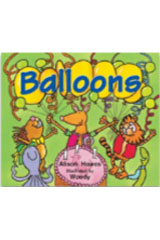 Literacy by Design  Leveled Reader 6-pack Grade K, Level AA Balloons-9781418933579