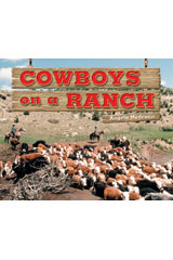 Literacy by Design  Leveled Reader 6-pack Grade 2, Level G Cowboys on a Ranch-9781418936167