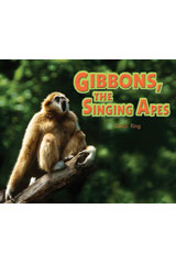 Literacy by Design  Leveled Reader 6-pack Grade 2, Level I Gibbons, the Singing Apes-9781418936273