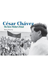 Literacy by Design  Leveled Reader 6-pack Grade 2, Level L Cesar Chavez: The Farm Worker's Friend-9781418936365
