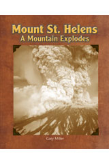 Literacy by Design  Leveled Reader 6-pack Grade 2, Level L Mount St. Helens: A Mountain Explodes-9781418936372