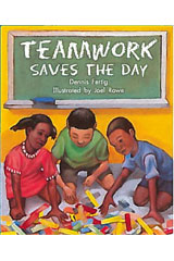 Literacy by Design  Leveled Reader 6-pack Grade 3, Level K Teamwork Saves The Day-9781418937164