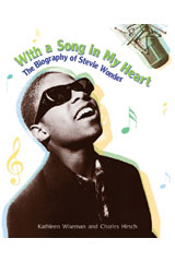 Literacy by Design  Leveled Reader 6-pack Grade 3, Level O Biography of Stevie Wonder, The-9781418937621