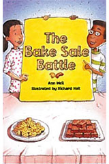 Literacy by Design  Leveled Reader 6-pack Grade 4, Level Q Bake Sale Battle, The-9781418938543