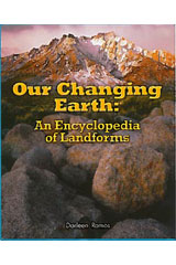 Literacy by Design  Leveled Reader 6-pack Grade 4, Level M Our Changing Earth: An Encyclopedia of Landforms-9781418938642