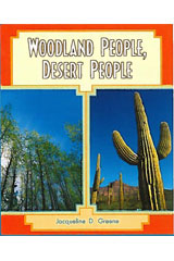 Literacy by Design  Leveled Reader 6-pack Grade 4, Level N Woodland People, Desert People-9781418938727
