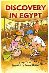 Literacy by Design  Leveled Reader 6-pack Grade 5, Level S Discovery In Egypt-9781418939793