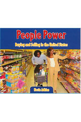 Literacy by Design  Leveled Reader 6-pack Grade 5, Level T People Power: Buying and Selling in the U.S.-9781418940157