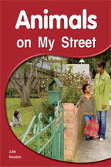 Rigby PM Shared Readers  Leveled Reader 6pk Red (Levels 3-5) Animals on My Street Animals on My Street-9781418942816