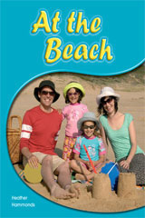 Rigby PM Shared Readers  Leveled Reader 6pk Red (Levels 3-5) At the Beach At the Beach-9781418942854